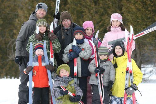 Centre de ski de fond Cèdres_Granby_Enfants