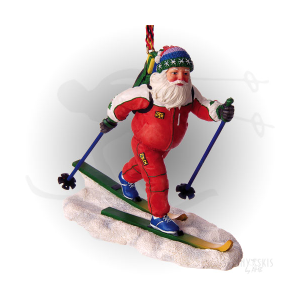 Cross country skiing Santa