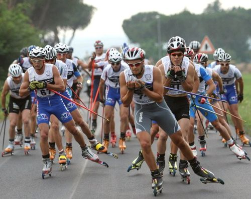 Roller skiing_12 juin 2011